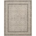 "Nourison Regal 5'6"" x 8'6"" Taupe Area Rug - Item Number: 25155"