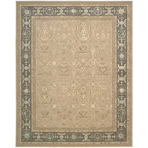 "3'9"" x 5'9"" Sand Rectangle Rug"