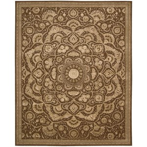 "8'6"" x 11'6"" Chocolate Rectangle Rug"