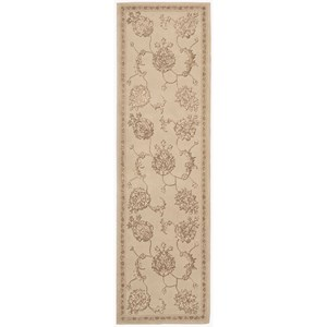"Nourison Regal 2'3"" x 8' Sand Runner Rug"