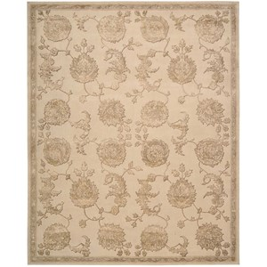 "5'6"" x 8'6"" Sand Rectangle Rug"
