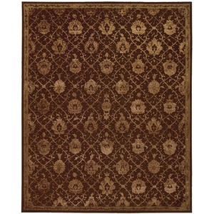 "3'9"" x 5'9"" Chocolate Rectangle Rug"