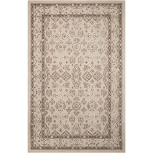 "5'6"" x 8'6"" Taupe Rectangle Rug"