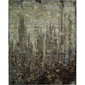 "Nourison Rhapsody 7'9"" x 9'9"" Seaglass Area Rug - Item Number: 18720"