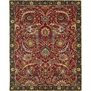 "Nourison Rhapsody 9'9"" x 13' Red Area Rug"