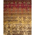 "Nourison Rhapsody 5'6"" x 8' Sunrise Area Rug - Item Number: 25020"