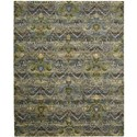 "Nourison Rhapsody 5'6"" x 8' Seaglass Area Rug - Item Number: 25034"