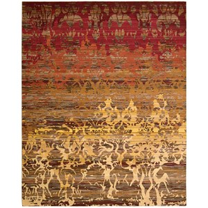 "Nourison Rhapsody 9'9"" x 13' Sunrise Rectangle Rug"