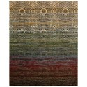 "Nourison Rhapsody 7'9"" x 9'9"" Multicolor Rectangle Rug - Item Number: RH002 MTC 79X99"