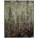 "Nourison Rhapsody 8'6"" x 11'6"" Seaglass Rectangle Rug - Item Number: RH006 SEAGL 86X116"