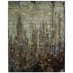 "Nourison Rhapsody 9'9"" x 13' Seaglass Rectangle Rug"