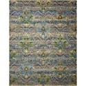 "Nourison Rhapsody 7'9"" x 9'9"" Seaglass Rectangle Rug - Item Number: RH010 SEAGL 79X99"