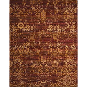 "Nourison Rhapsody 9'9"" x 13' Multicolor Rectangle Rug"