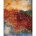 "Nourison Rhapsody 7'9"" x 9'9"" Autumn Rectangle Rug - Item Number: RH016 AUTUM 79X99"