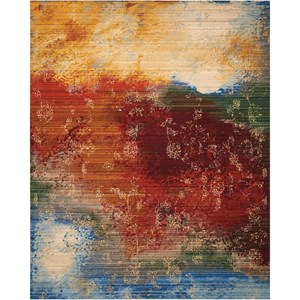 "Nourison Rhapsody 9'9"" x 13' Autumn Rectangle Rug"