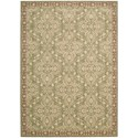 "Nourison Riviera 9'6"" x 13' Green Rectangle Rug - Item Number: RI01 GRE 96X13"