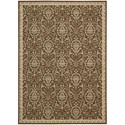 "Nourison Riviera 2' x 2'9"" Chocolate Rectangle Rug - Item Number: RI02 CHO 2X29"