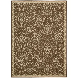 "9'6"" x 13' Chocolate Rectangle Rug"