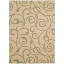"Nourison Riviera 2' x 2'9"" Light Gold Rectangle Rug - Item Number: RI03 LGD 2X29"