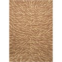 "Nourison Riviera 5'3"" x 7'5"" Chocolate Rectangle Rug - Item Number: RI05 CHO 53X75"