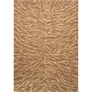 "Nourison Riviera 9'6"" x 13' Chocolate Rectangle Rug"