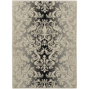 "Nourison Riviera 2' x 2'9"" Charcoal Rectangle Rug"