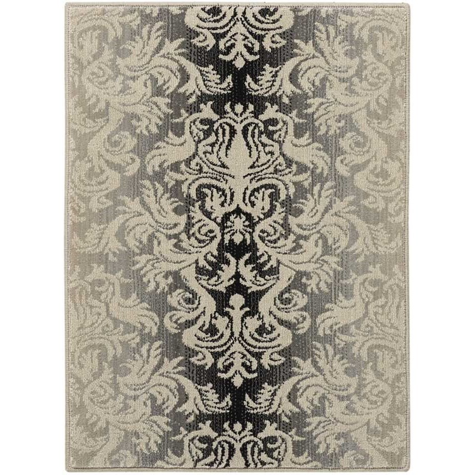 "7'9"" x 10'10"" Charcoal Rectangle Rug"