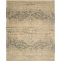 "Nourison Silk Elements 7'9"" x 9'9"" Beige Area Rug - Item Number: 18855"