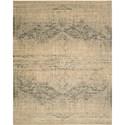 "Nourison Silk Elements 9'9"" x 13' Beige Area Rug - Item Number: 18859"