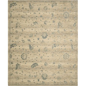 "Nourison Silk Elements 9'9"" x 13' Beige Area Rug"