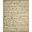 "Nourison Silk Elements 8'6"" x 11'6"" Beige Area Rug - Item Number: 18865"