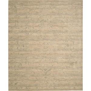 "Nourison Silk Elements 5'6"" x 8' Sand Area Rug"