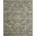 "Nourison Silk Elements 8'6"" x 11'6"" Azure Area Rug - Item Number: 18878"