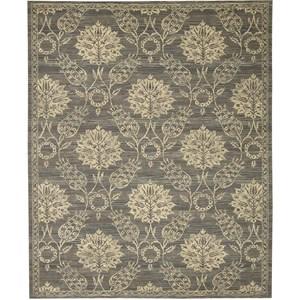 Nourison Silk Elements 12' x 15' Graphite Area Rug