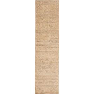 "Nourison Silk Elements 2'5"" x 10' Sand Area Rug"