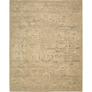 "Nourison Silk Elements 9'9"" x 13' Sand Area Rug"