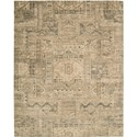 "Nourison Silk Elements 7'9"" x 9'9"" Beige Area Rug - Item Number: 18902"