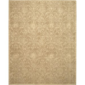 "Nourison Silk Elements 7'9"" x 9'9"" Sand Area Rug"