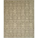 "Nourison Silk Elements 7'9"" x 9'9"" Moss Area Rug - Item Number: 18916"