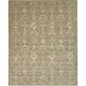 "Nourison Silk Elements 8'6"" x 11'6"" Moss Area Rug"