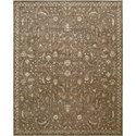"Nourison Silk Elements 7'9"" x 9'9"" Cocoa Area Rug - Item Number: 18926"