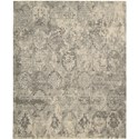 "Nourison Silk Elements 5'6"" x 8' Mushroom Area Rug - Item Number: 29526"