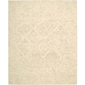 "Nourison Silk Elements 9'9"" x 13' Natural Area Rug"