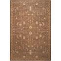 "Nourison Silk Elements 5'6"" x 8' Cocoa Rectangle Rug - Item Number: SKE02 COC 56X8"