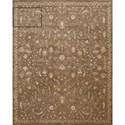 "Nourison Silk Elements 9'9"" x 13' Cocoa Rectangle Rug - Item Number: SKE02 COC 99X13"
