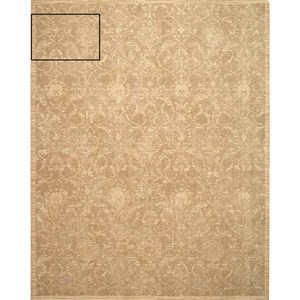 "Nourison Silk Elements 9'9"" x 13' Sand Rectangle Rug"