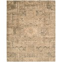 "Nourison Silk Elements 7'9"" x 9'9"" Beige Rectangle Rug - Item Number: SKE13 BGE 79X99"