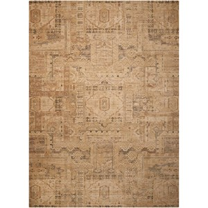 "Nourison Silk Elements 8'6"" x 11'6"" Beige Rectangle Rug"