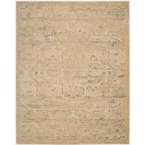 Nourison Silk Elements 12' x 15' Sand Rectangle Rug