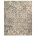 Nourison Silk Elements 12' x 15' Mushroom Rectangle Rug - Item Number: SKE19 MSH 12X15